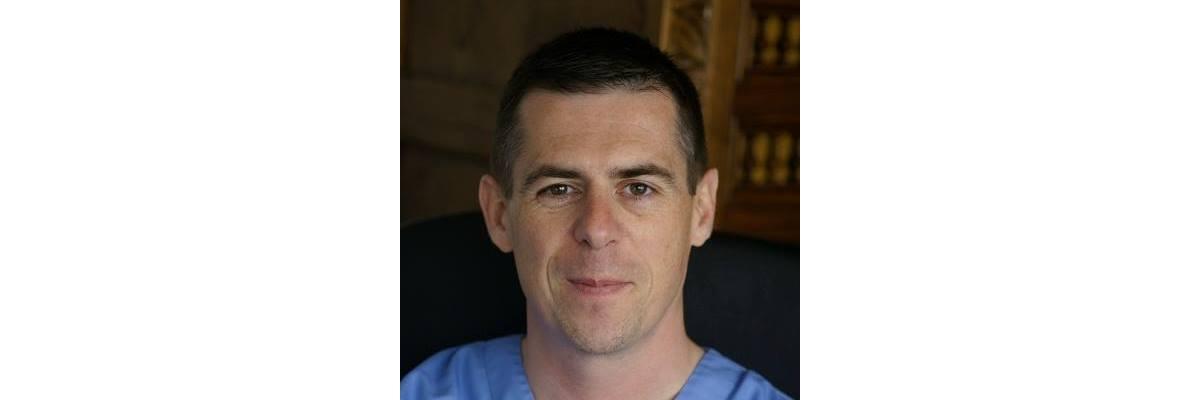 Jean-Philippe Liot, vétérinaire à la Clinique des Alizées